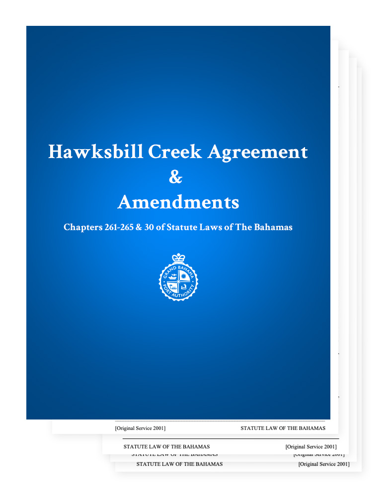 Hawksbill Creek Agreement