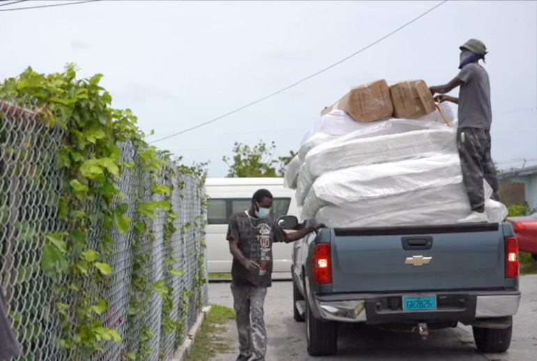 GBDRF Distributes Beds To Needy Families Across Grand Bahama